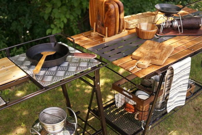 ネイチャートーンズのアウトドアテーブル