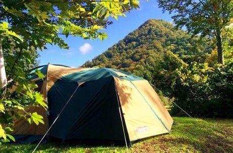 雨飾高原キャンプ場