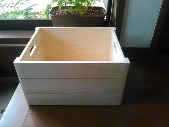 市販木製BOX