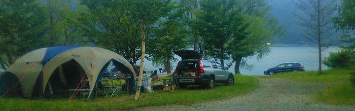 キャンプビレッジノームのキャンプ場