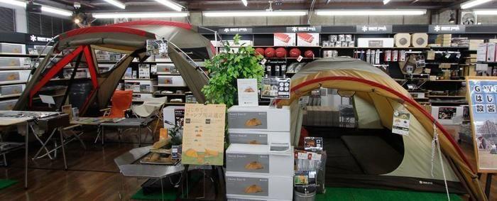 スノーピークストア WILD-1小山店