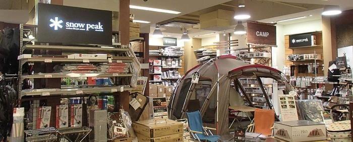 スノーピークストア L-Breath トレッサ横浜店
