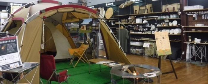 スノーピークストア WILD-1厚木店