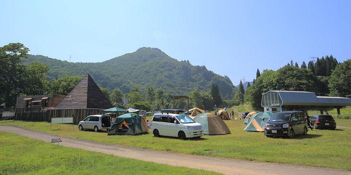 なえば高原オートキャンプ場