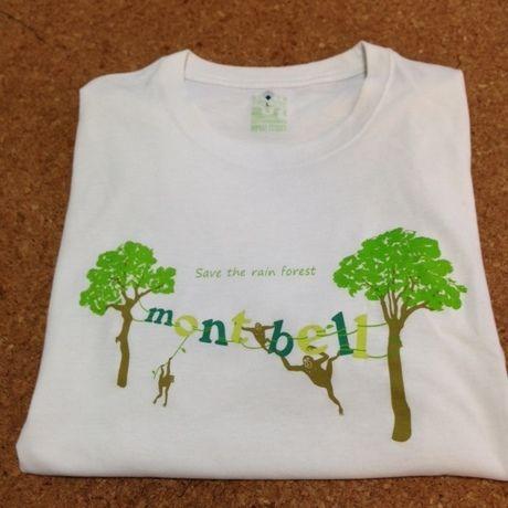 mont-bellのTシャツ