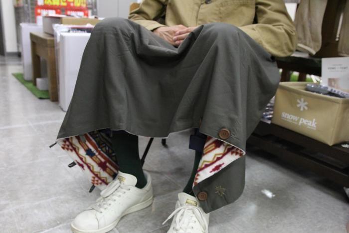ロゴスのボウエン5wayスカート