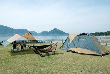 休暇村 大久野島 海の前のフリーサイト
