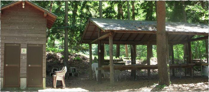 ハーブの里オートキャンプ場の外観