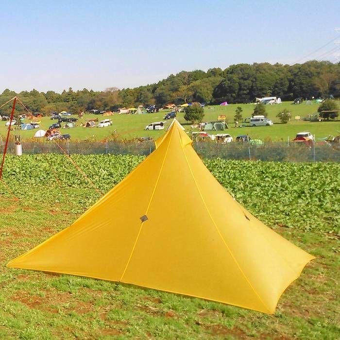 森のまきばオートキャンプ場でのソロキャンプの様子