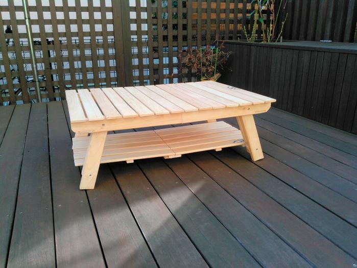 グランドスタイルのテーブル