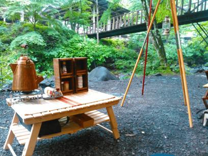 ちょっとした工夫で差をつけたい、自作ギアでキャンプを楽しんでみませんか?【3つの機能を備えたテーブル】