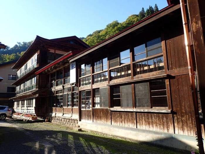 小谷温泉山田旅館の様子