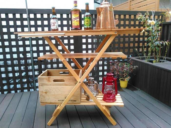 自作ギアのテーブル