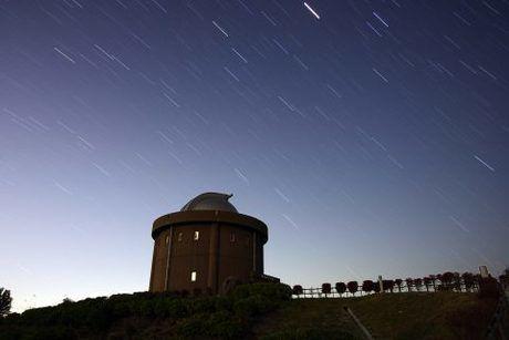 星と大野アルプスランドの様子