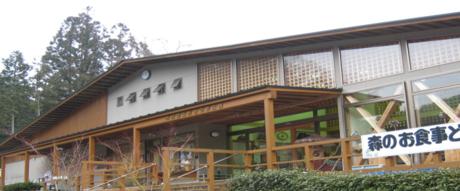 丹波篠山渓谷の森公園の施設の様子