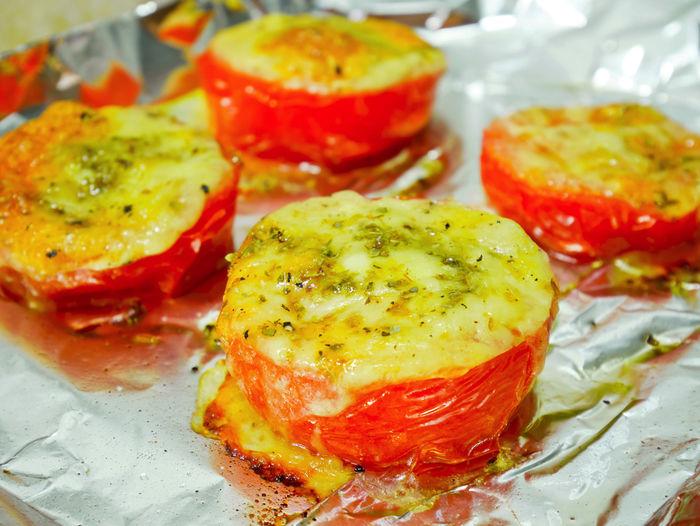 トマト&チーズのホイル焼き