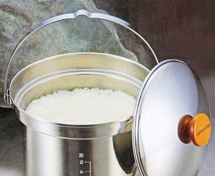 炊き上がった米