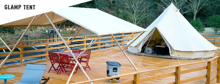 ネスタリゾート神戸のキャンプの様子