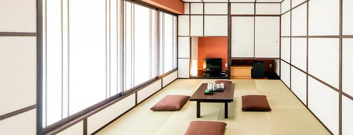 ネスタリゾート神戸のホテル内の和室の様子