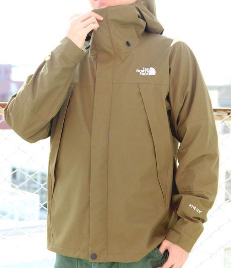 ノースフェイスのExplotion Jacket