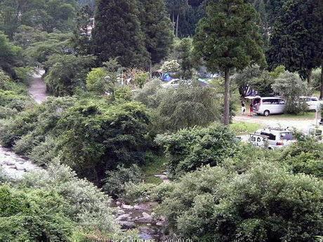 白の平オートキャンプ場のキャンプサイト