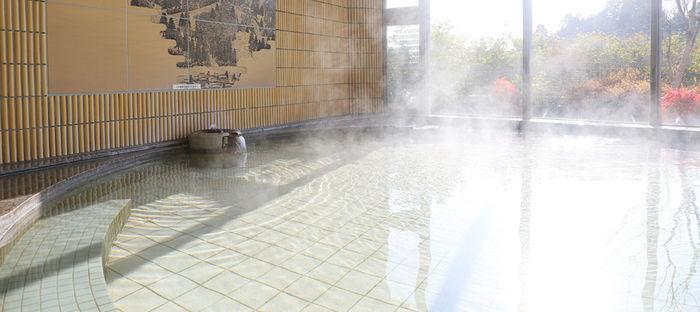 十二坊温泉ゆららオートキャンプ場の温泉施設