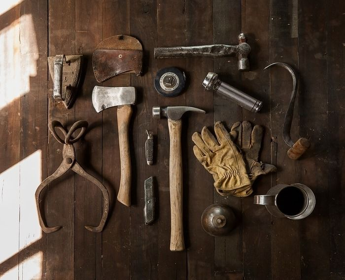 製作に使用する道具