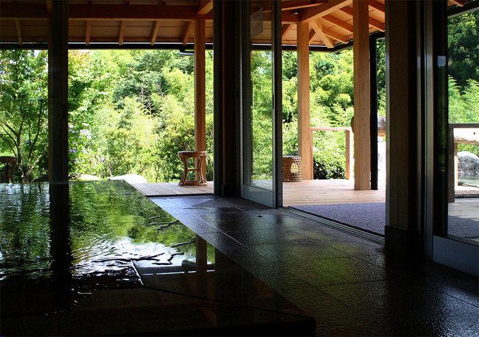 滝見苑 けんこう村 ごりやくの湯のお風呂