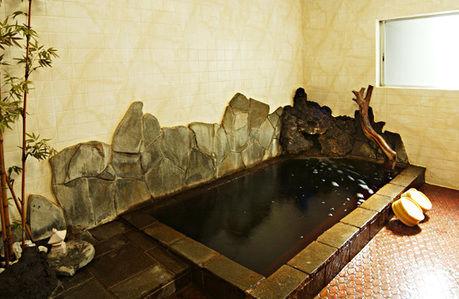 養老渓谷 嵯峨和のコーヒー色の温泉