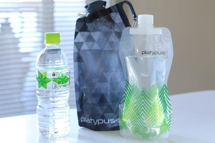 ペットボトルやソフトボトルに入った水