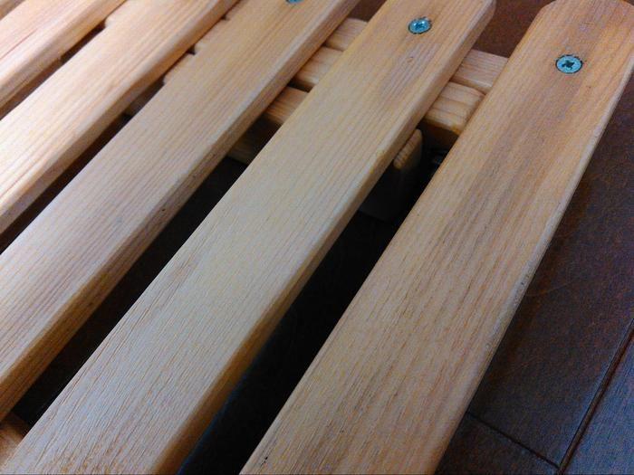 木材の面取り