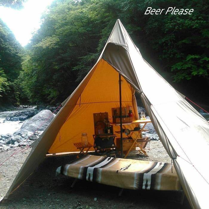 ソロスタイルのテント