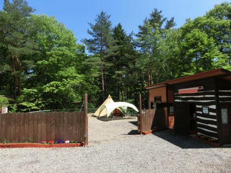 ミリーズラブのキャンプサイト