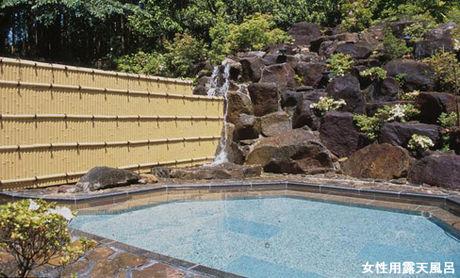 筑波温泉ホテルの露天風呂