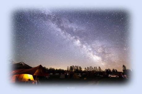 星に手のとどく丘キャンプ場の星