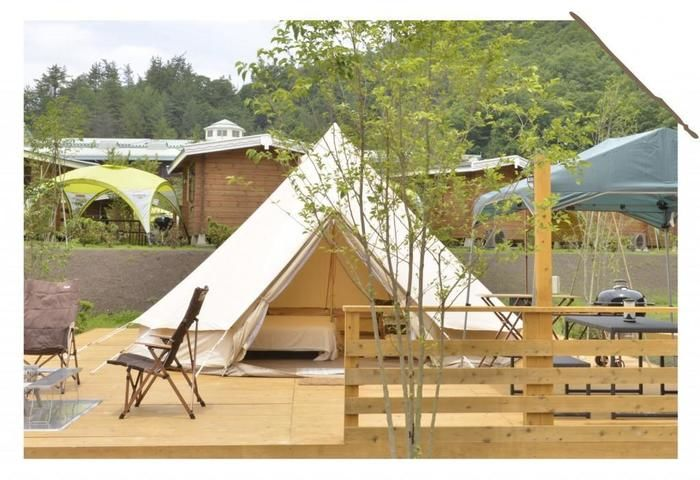 GRAX京都るり渓のグランピングテント