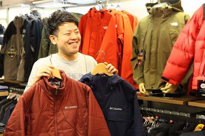 小林さんおすすめの2種類のジャケット