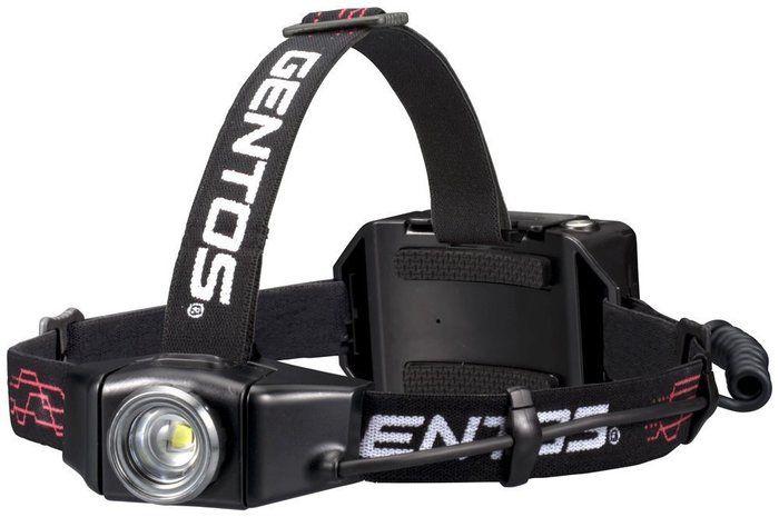 ジェントスの充電式ヘッドライトの画像
