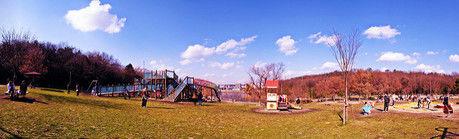 広大な天白公園