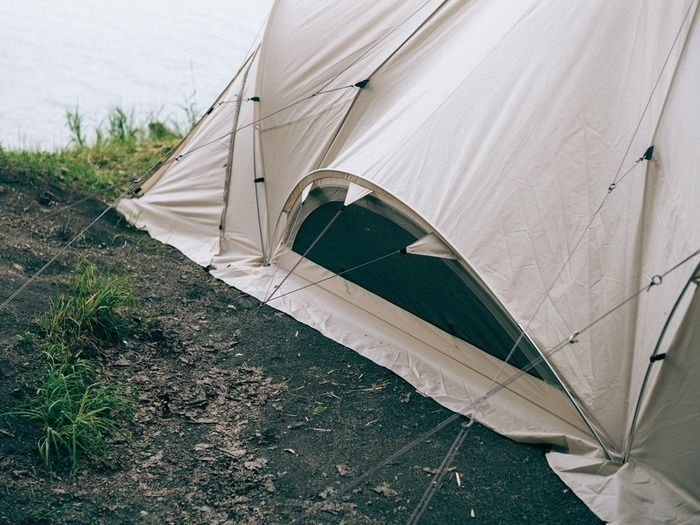 テント下部のベンチレーション
