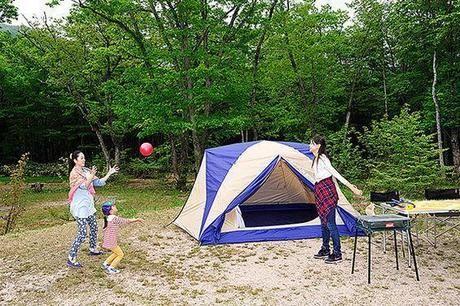 休暇村奥大山の鏡ヶ成キャンプ場