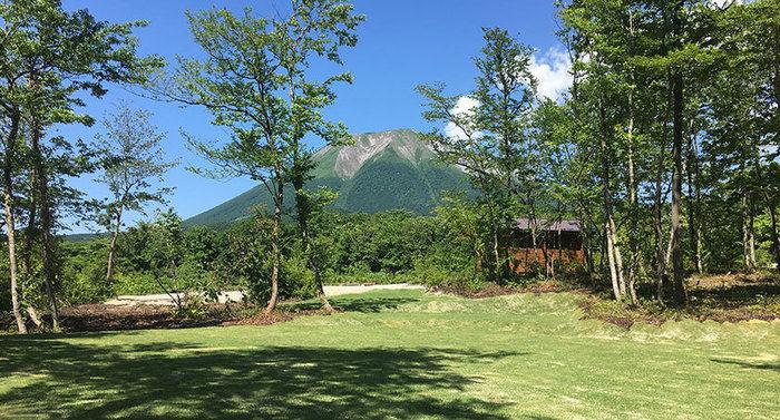 DACG 大山オートキャンプの芝生のサイト