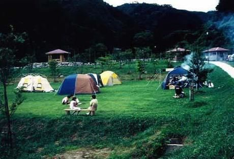 大父木地親水公園のキャンプサイト