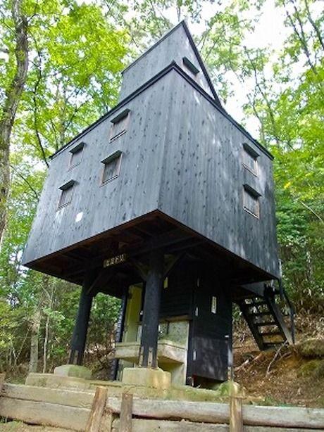 奈良県立野外活動センターのキャンプ場