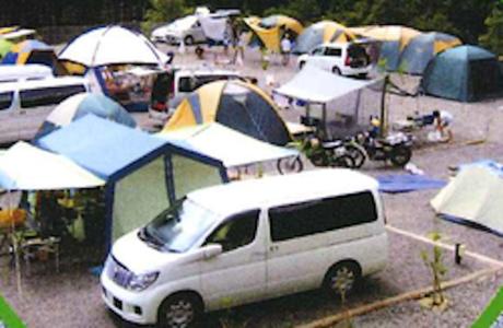 あさひキャンプ場のオートサイト
