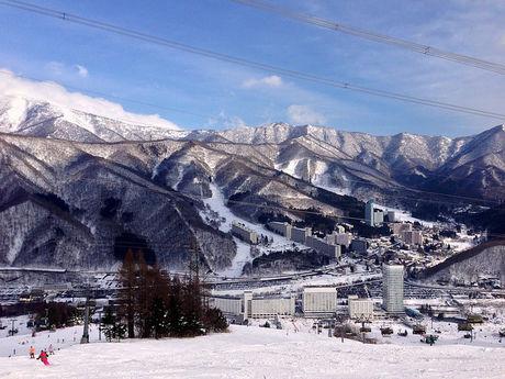 苗場スキー場の様子