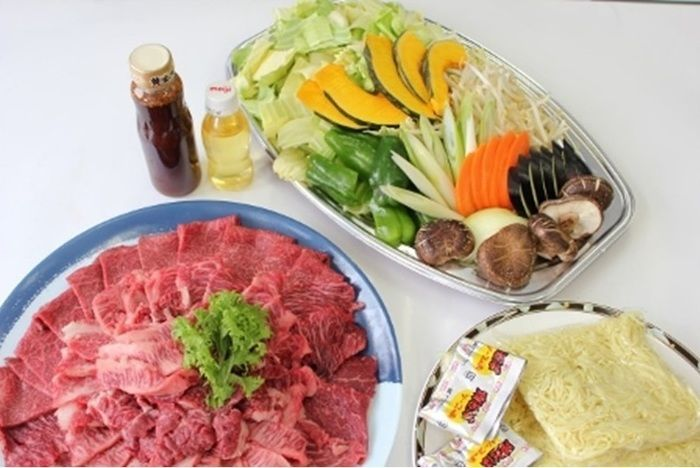 嵐山渓谷バーベキュー場で予約できる食材