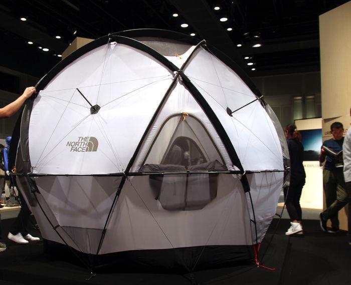 ザ・ノース・フェイスの新作テント、Geodome4