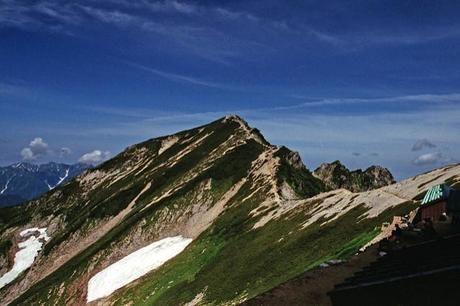 唐松岳山頂付近の写真