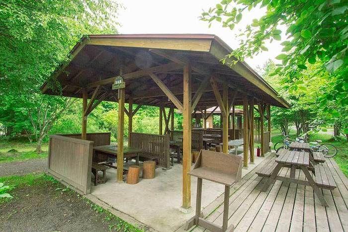 北軽井沢スイートグラス BBQハウスのbバーベキューサイト